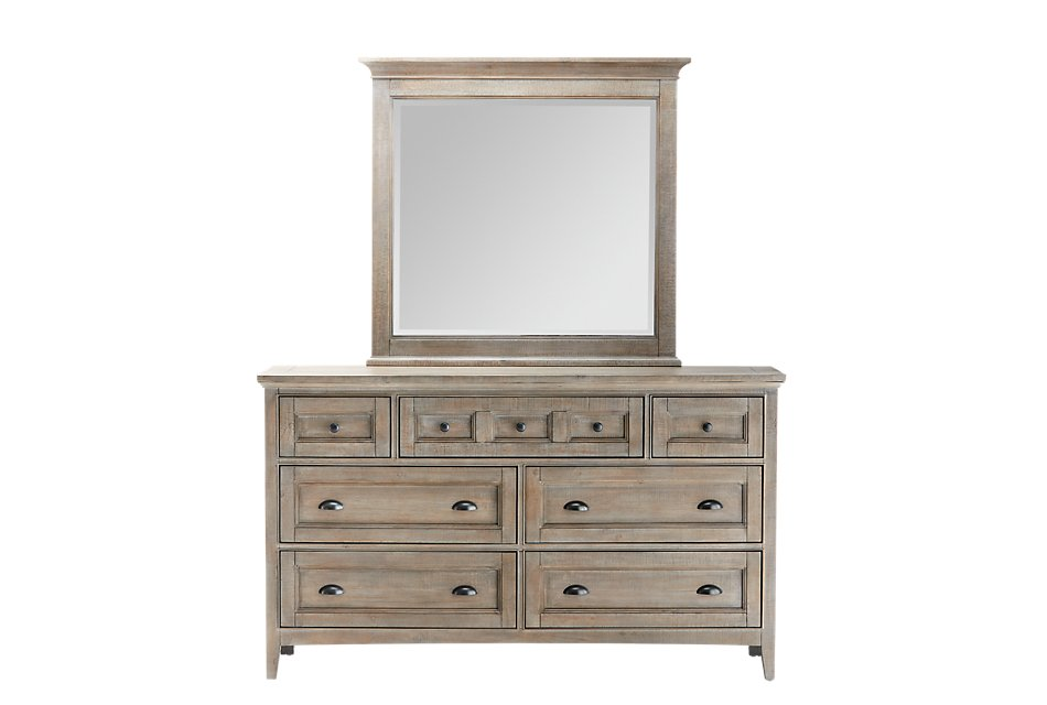 Heron Cove Light Tone  Dresser & Mirror