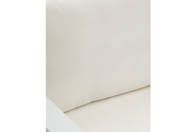 Lisbon White Aluminum Chair