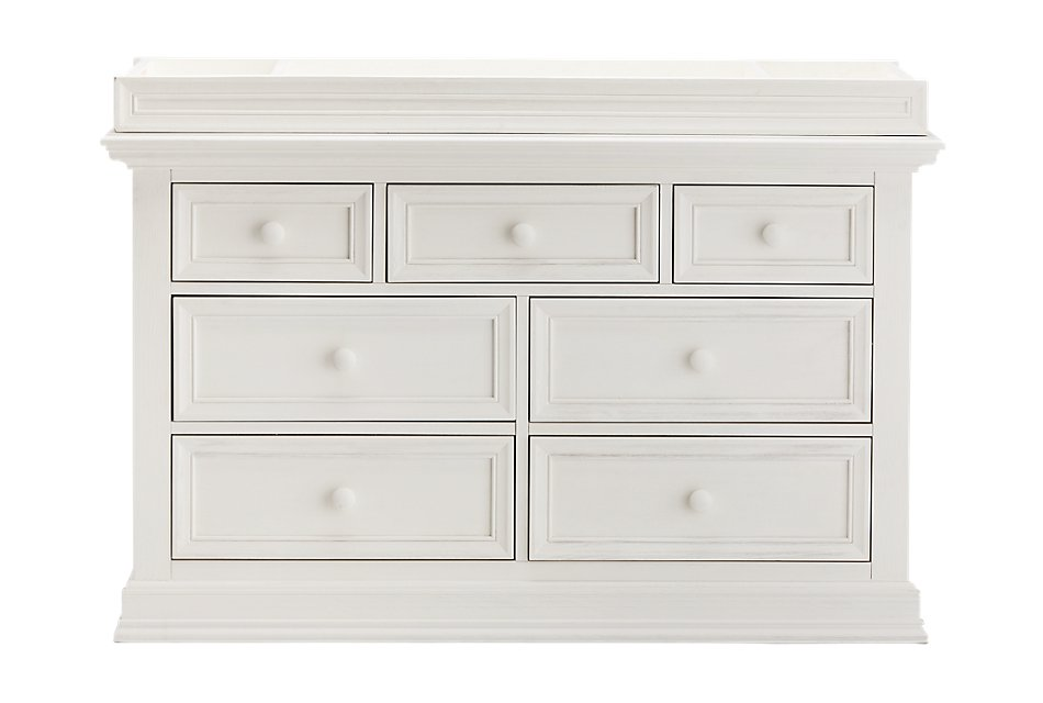 Glenbrook WHITE  Dresser with Changing Top
