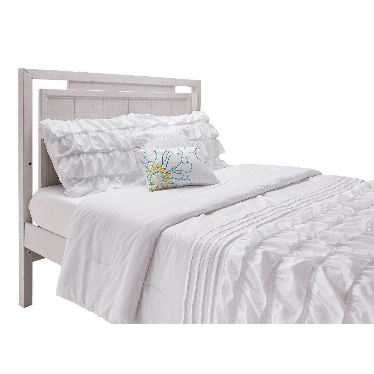 Ashton Ivory Wood Panel Bed   Baby & Kids - Beds   City ...