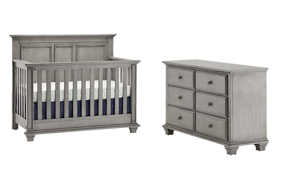 Kenilworth Light Tone  Crib Bedroom