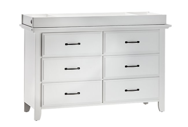Willowbrook White Dresser with Changing Top