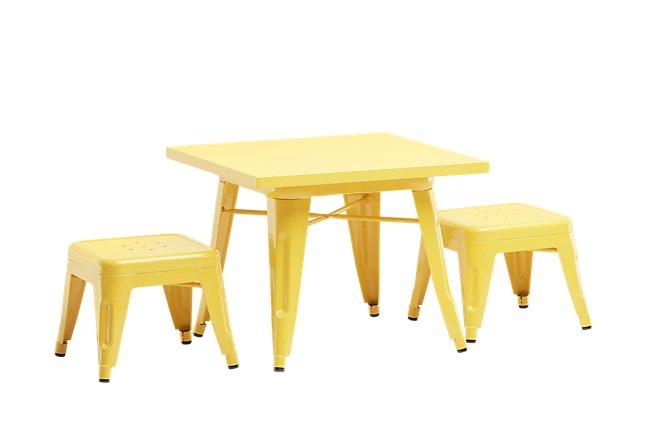 Lemonade Yellow Table & 2 Chairs