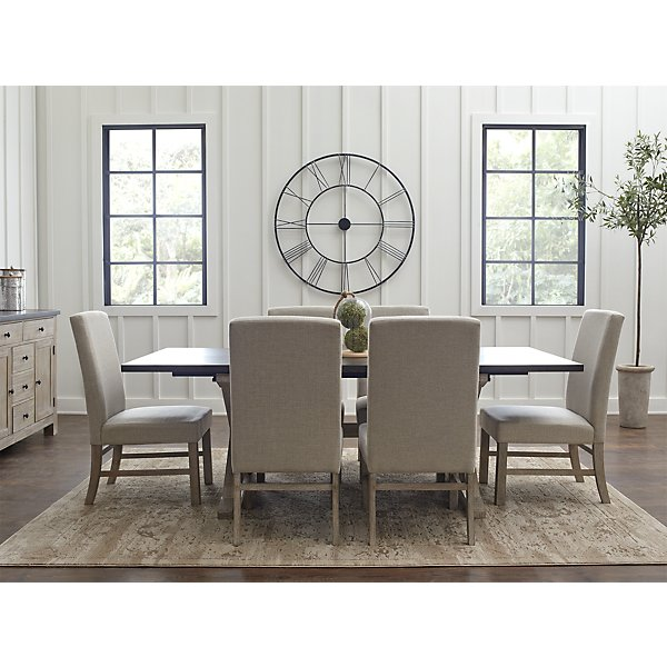 4d3865e86186 ... Jefferson Two-Tone Rectangular Table & 4 Upholstered Chairs