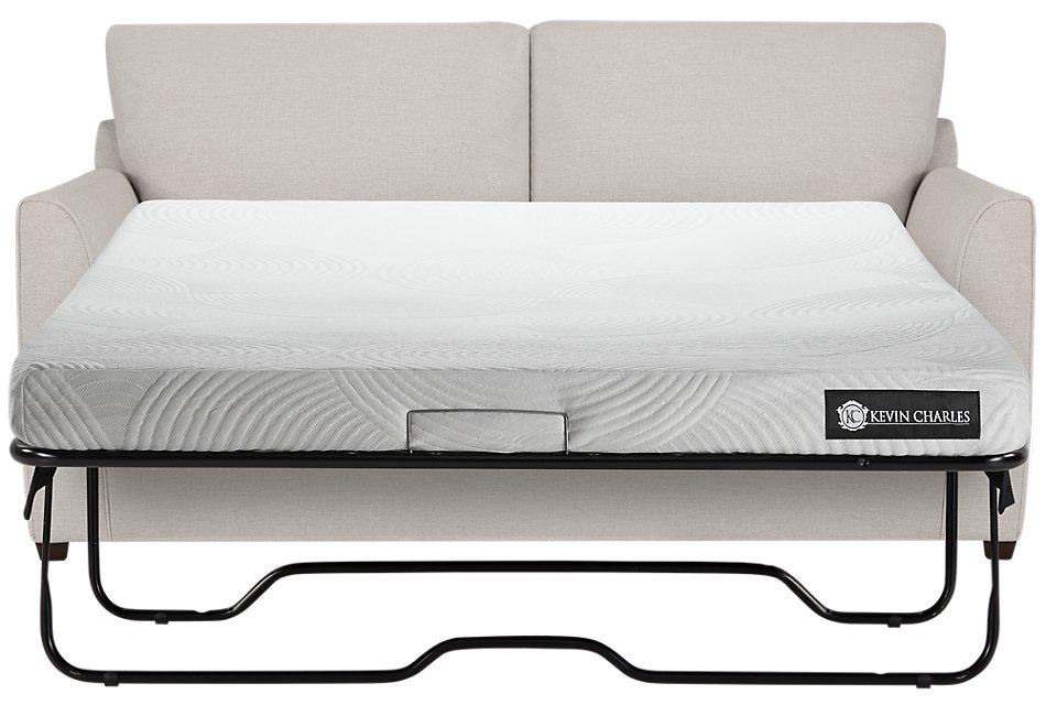 Asheville Light Taupe  Cooling Memory Foam Sleeper
