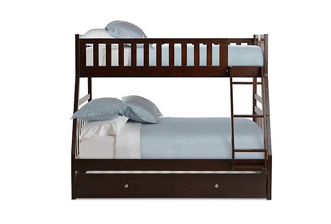 Oakley Dark Tone Trundle Bunk Bed