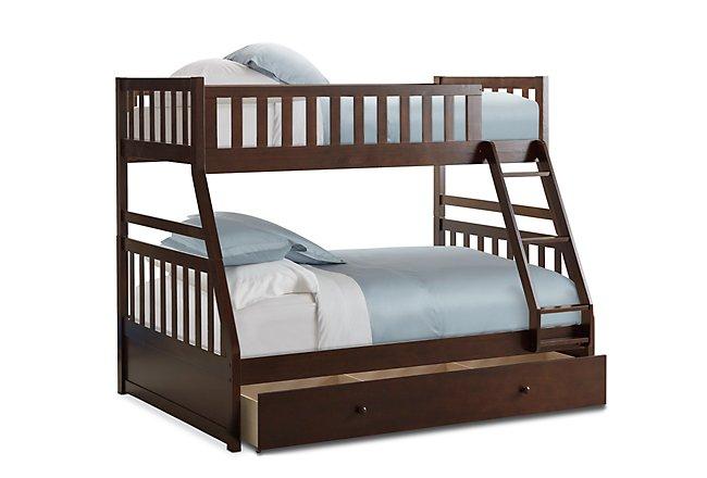 Oakley Dark Tone Storage Bunk Bed