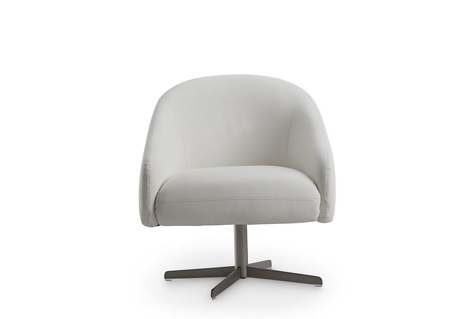 Astounding Frankie White Swivel Accent Chair Home Accents Accent Pdpeps Interior Chair Design Pdpepsorg