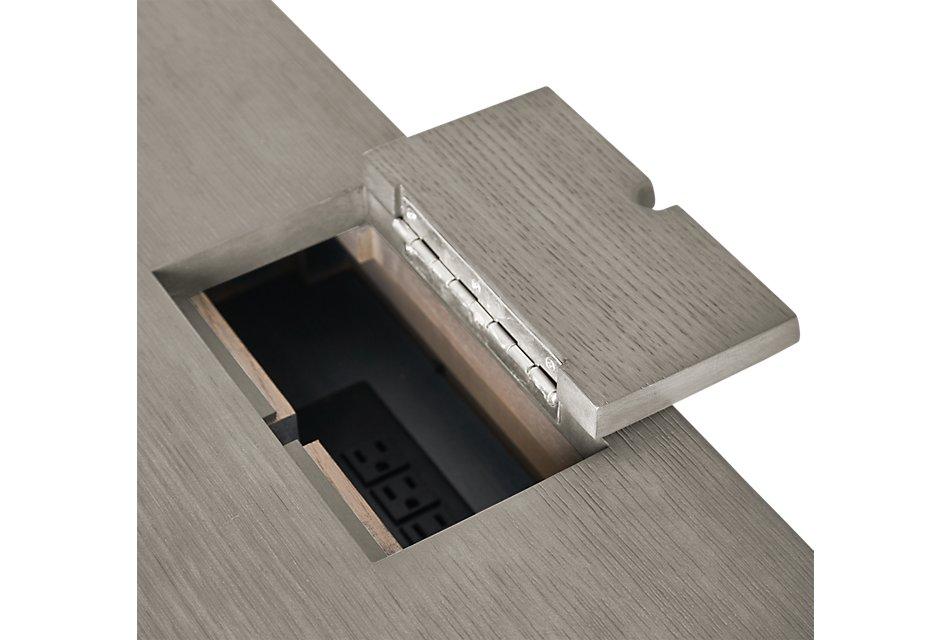 Highline Gray  Writing Desk