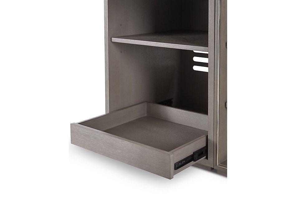 Highline Gray 5 Piece L Desk