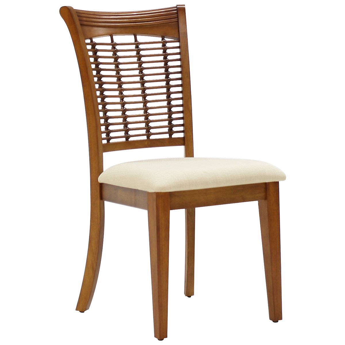 Bayberry Mid Tone Wood Side Chair