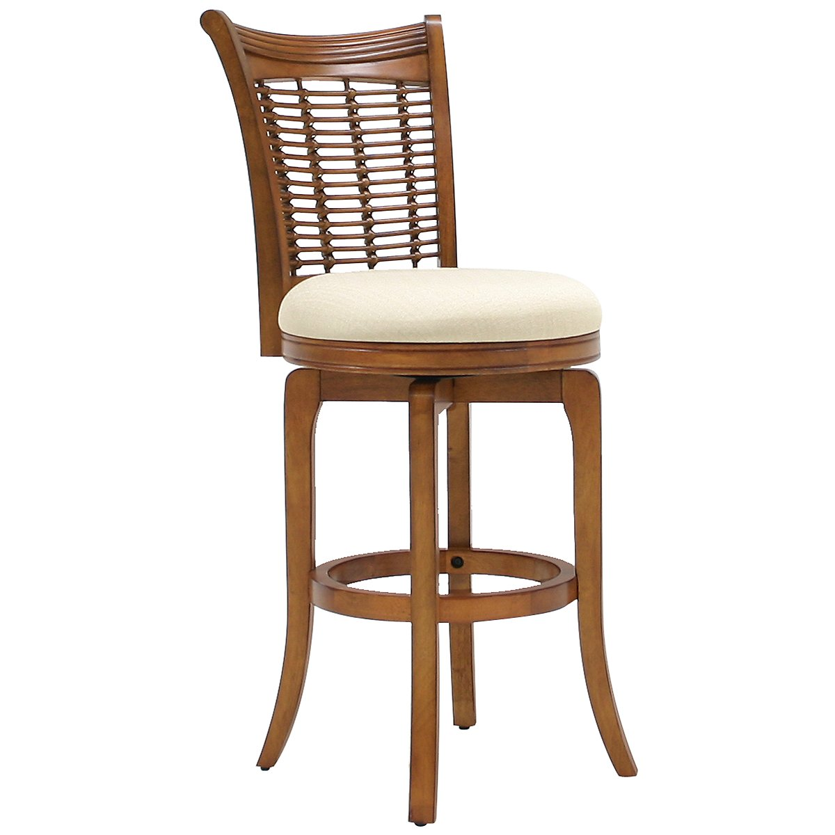 "Bayberry Mid Tone 30"" Swivel Barstool"