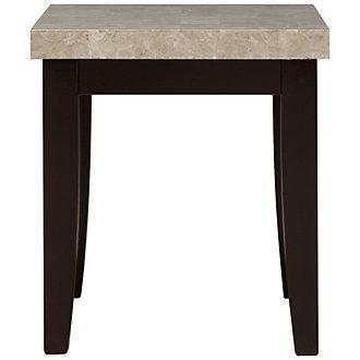 Monark Marble Rectangular End Table