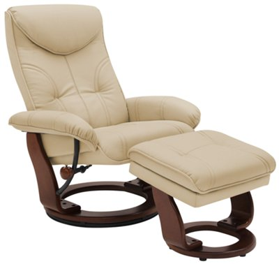 Oliver Dark Beige Bonded Leather Recliner u0026 Ottoman  sc 1 st  City Furniture & oliver dk beige bonded ltr recliner and ottoman islam-shia.org