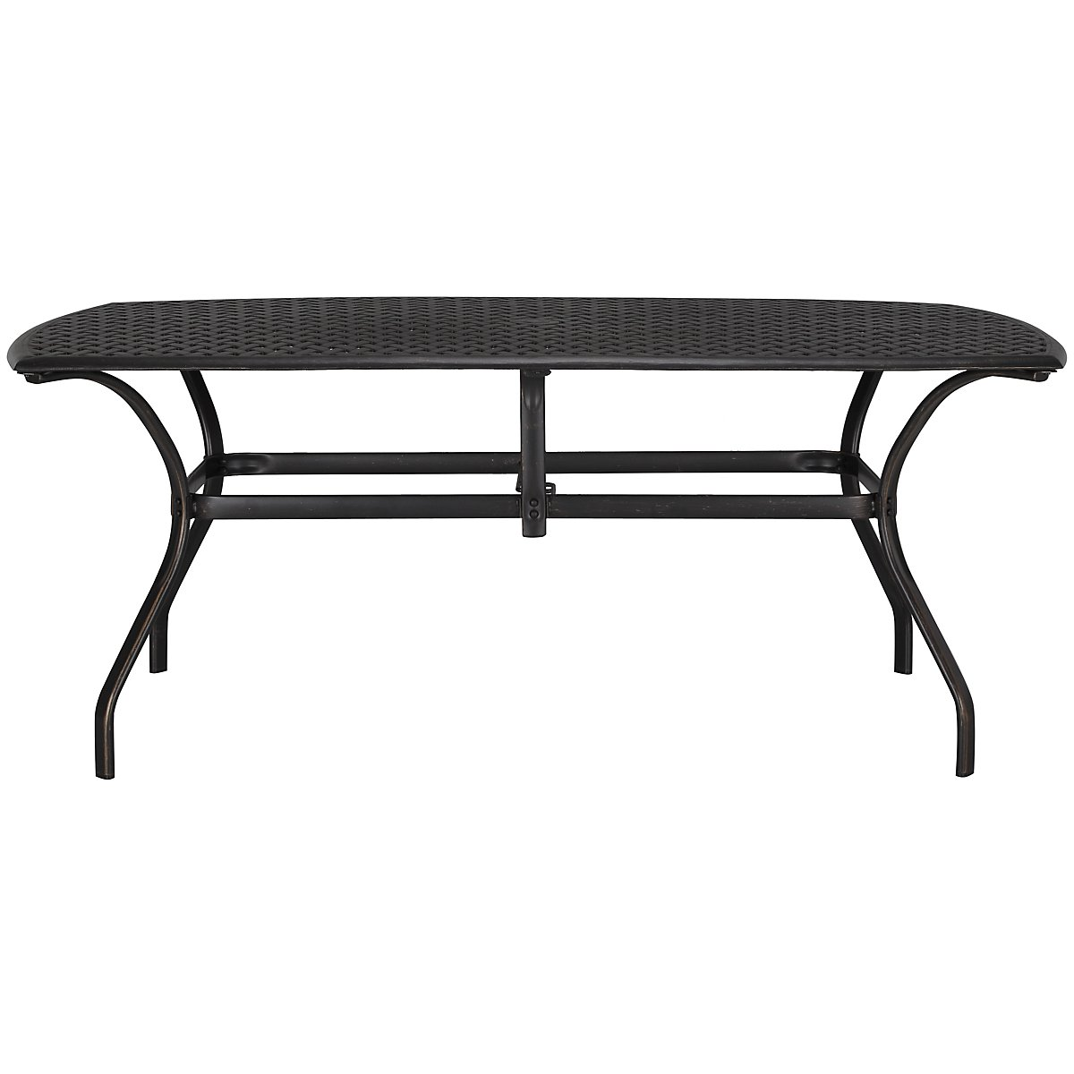 "Bella 72"" Steel Rectangular Table"
