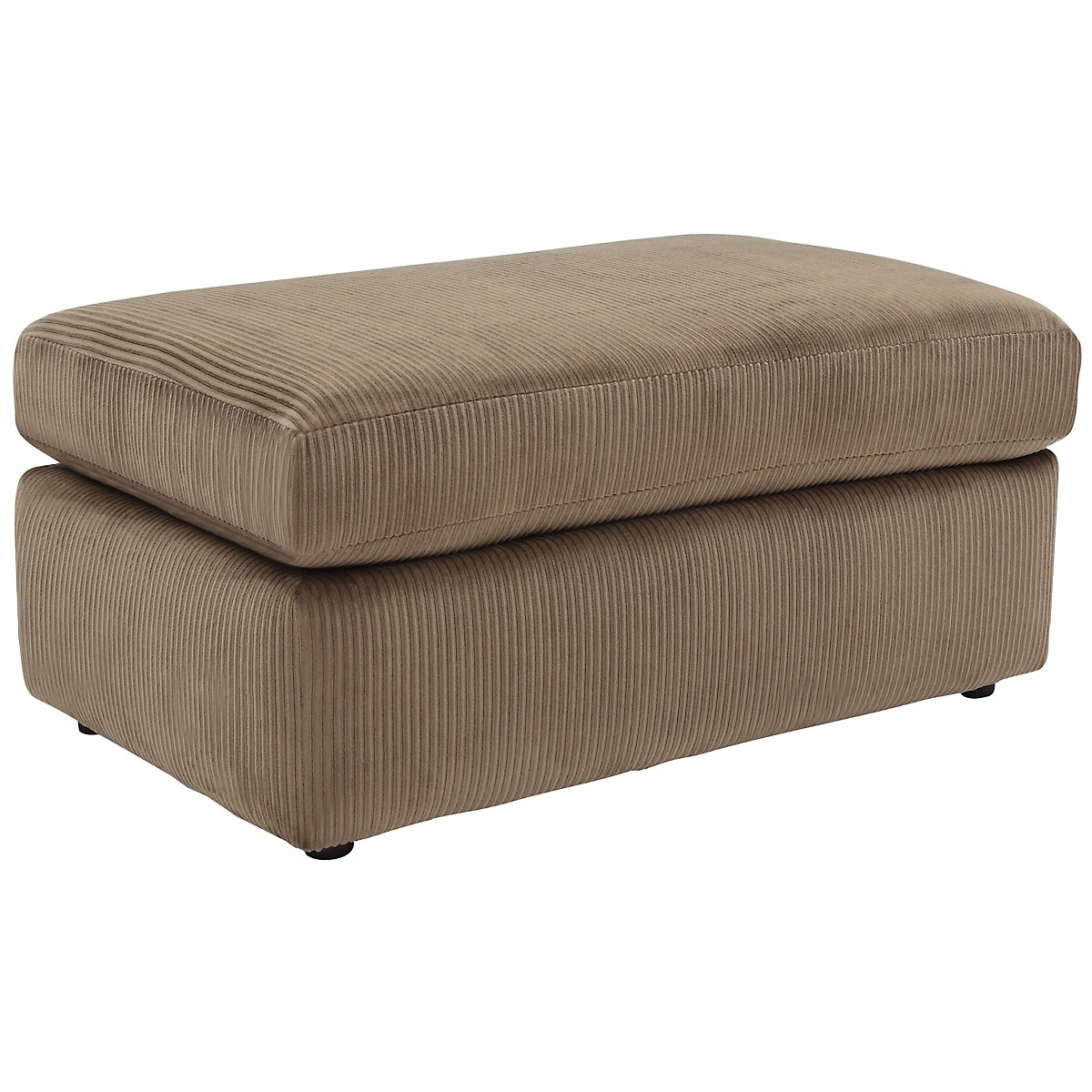 tara2 dk taupe micro ottoman. Black Bedroom Furniture Sets. Home Design Ideas