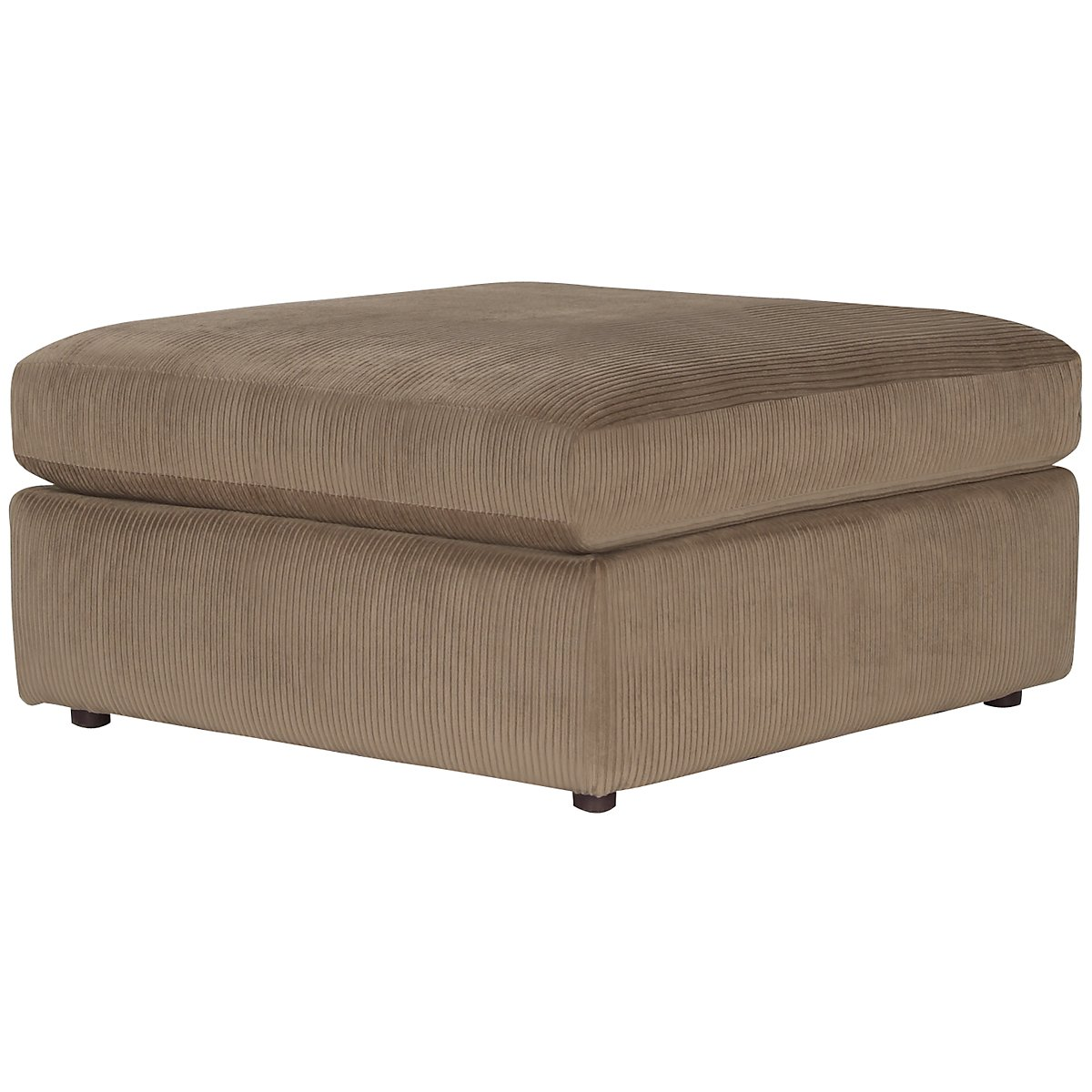 tara2 dk taupe micro cocktail ottoman. Black Bedroom Furniture Sets. Home Design Ideas