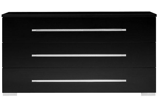 Dimora Black Wood Dresser