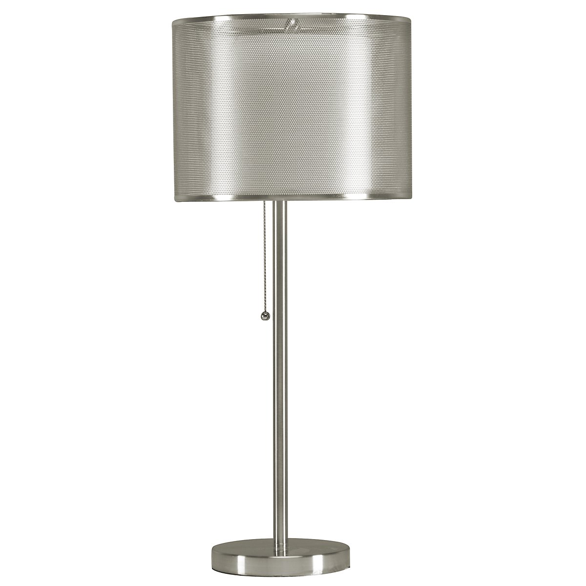 Riley Silver Table Lamp