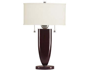 Paxton Dark Brown Table Lamp