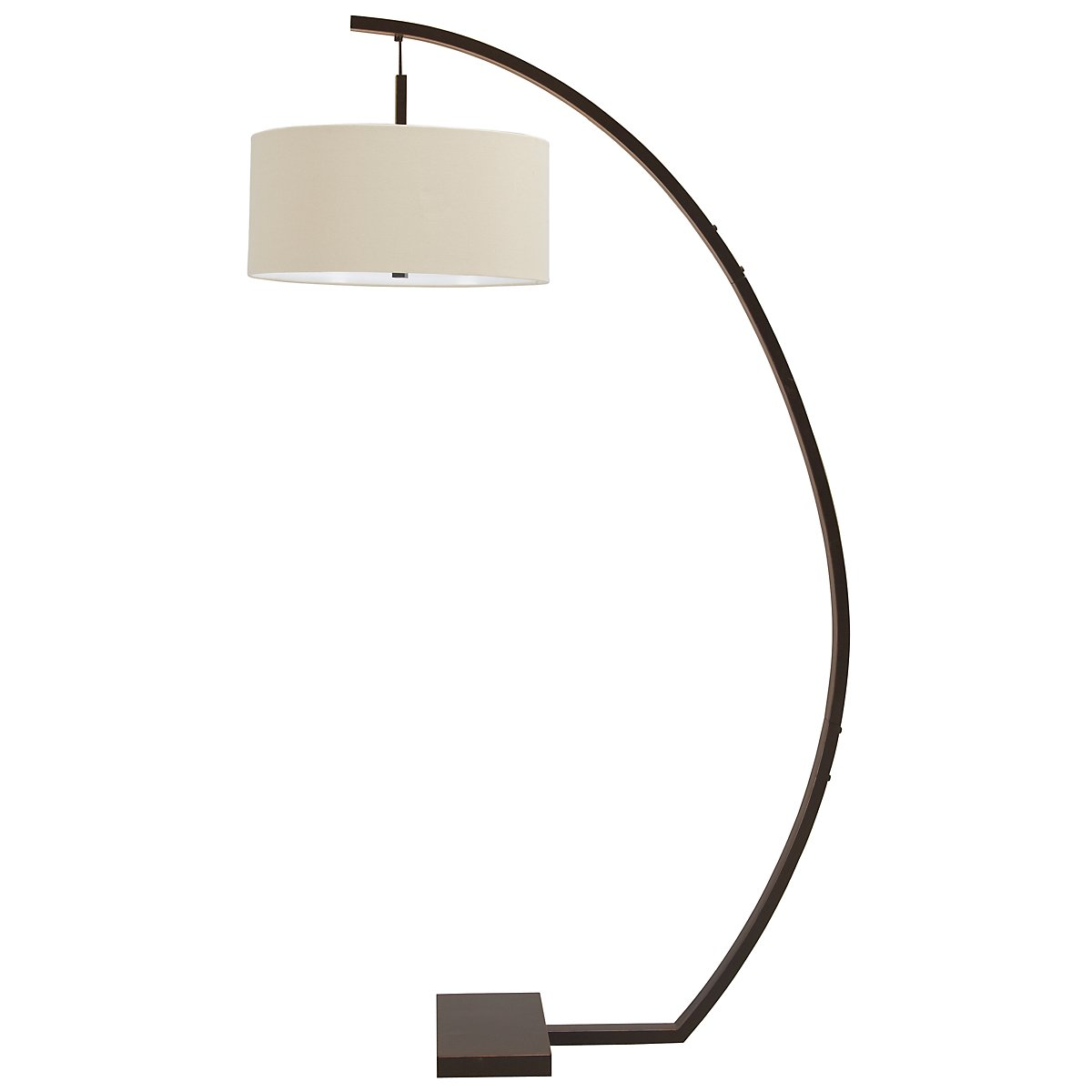 Hanson Bronze Arc Floor Lamp