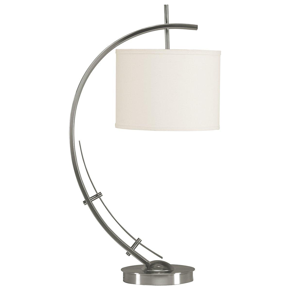 Vertigo Silver Table Lamp