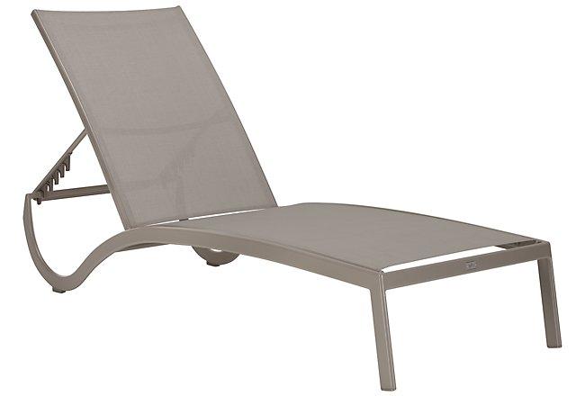 Lisbon Khaki Sling Chaise