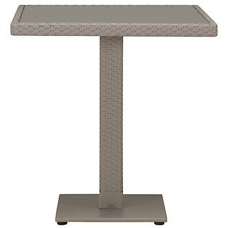 """Lisbon Khaki 27"""" Square Table"""