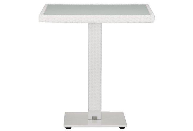 Lisbon White Square Table