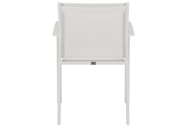 Lisbon White Sling Chair