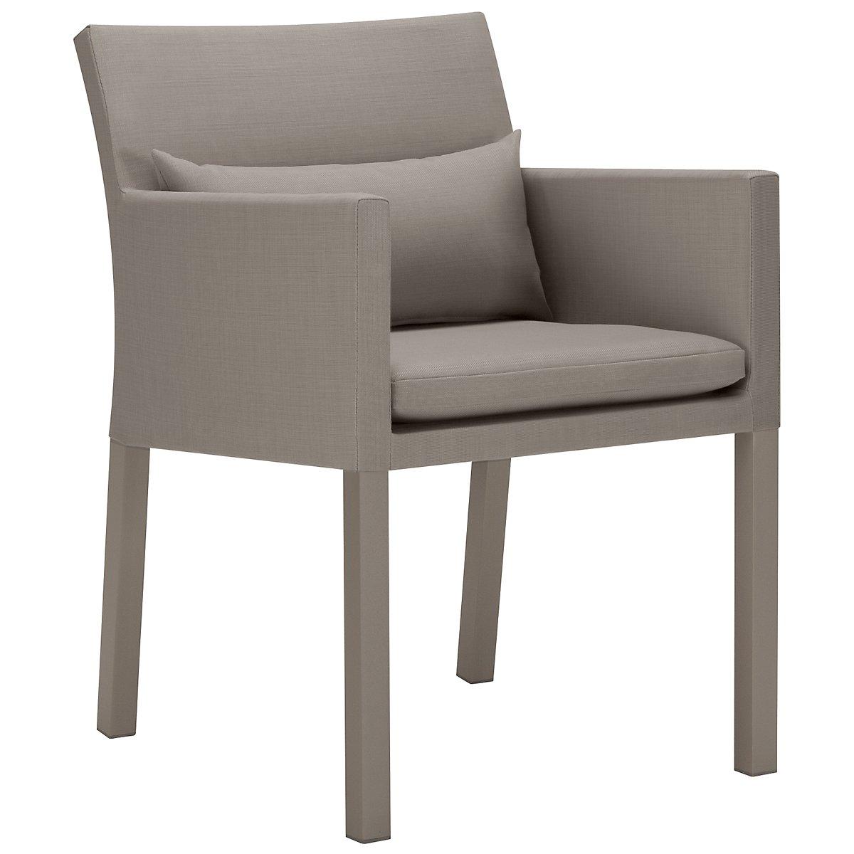 Lisbon Khaki Cushioned Chair