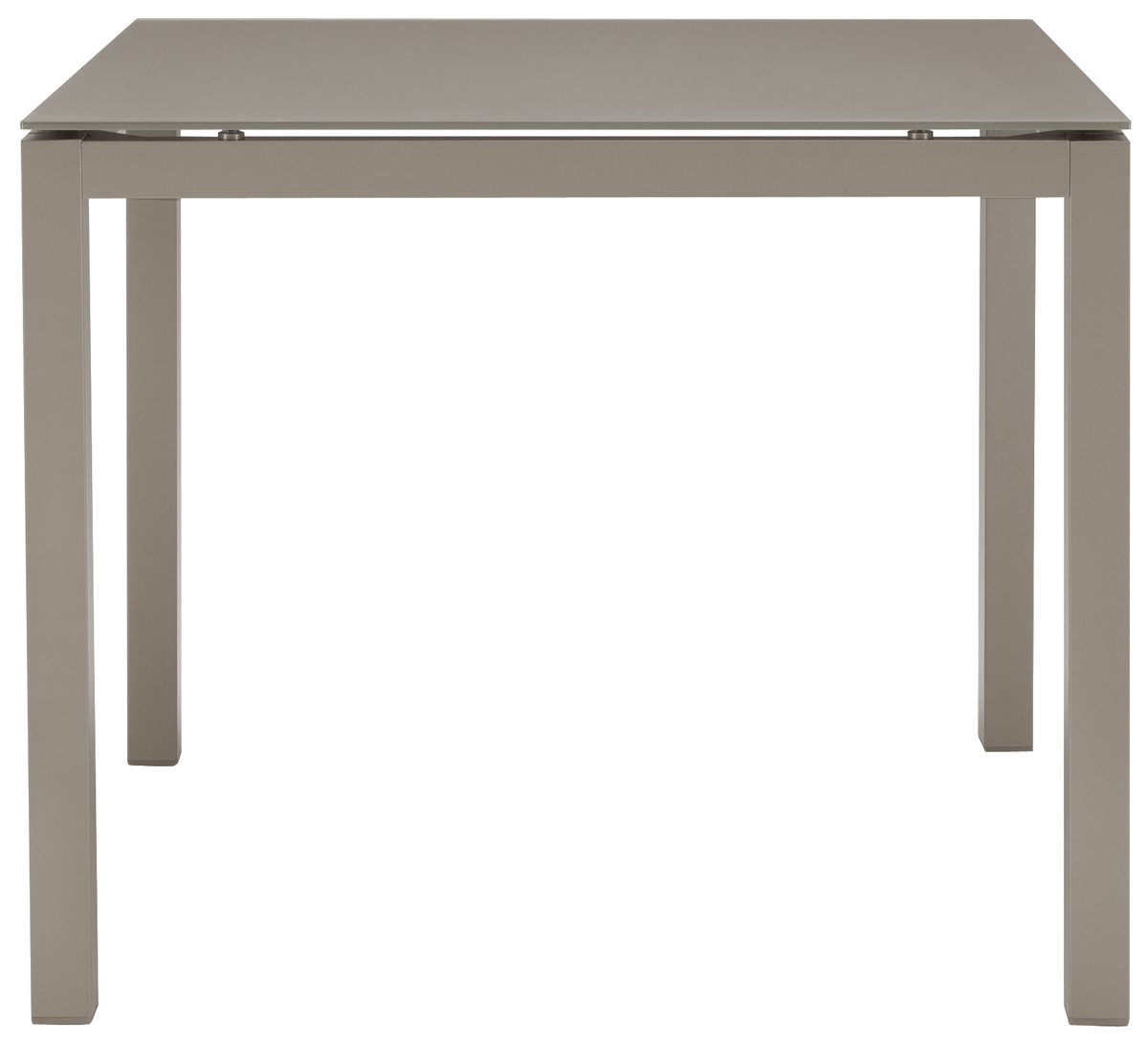 Lisbon Khaki Square Table