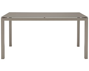"Lisbon Khaki 60"" Rectangular Table"
