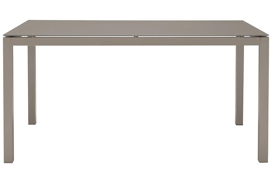 """Lisbon Khaki 60"""" Rectangular Table"""