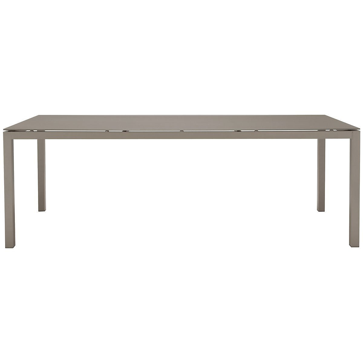 "Lisbon Khaki 86"" Rectangular Table"