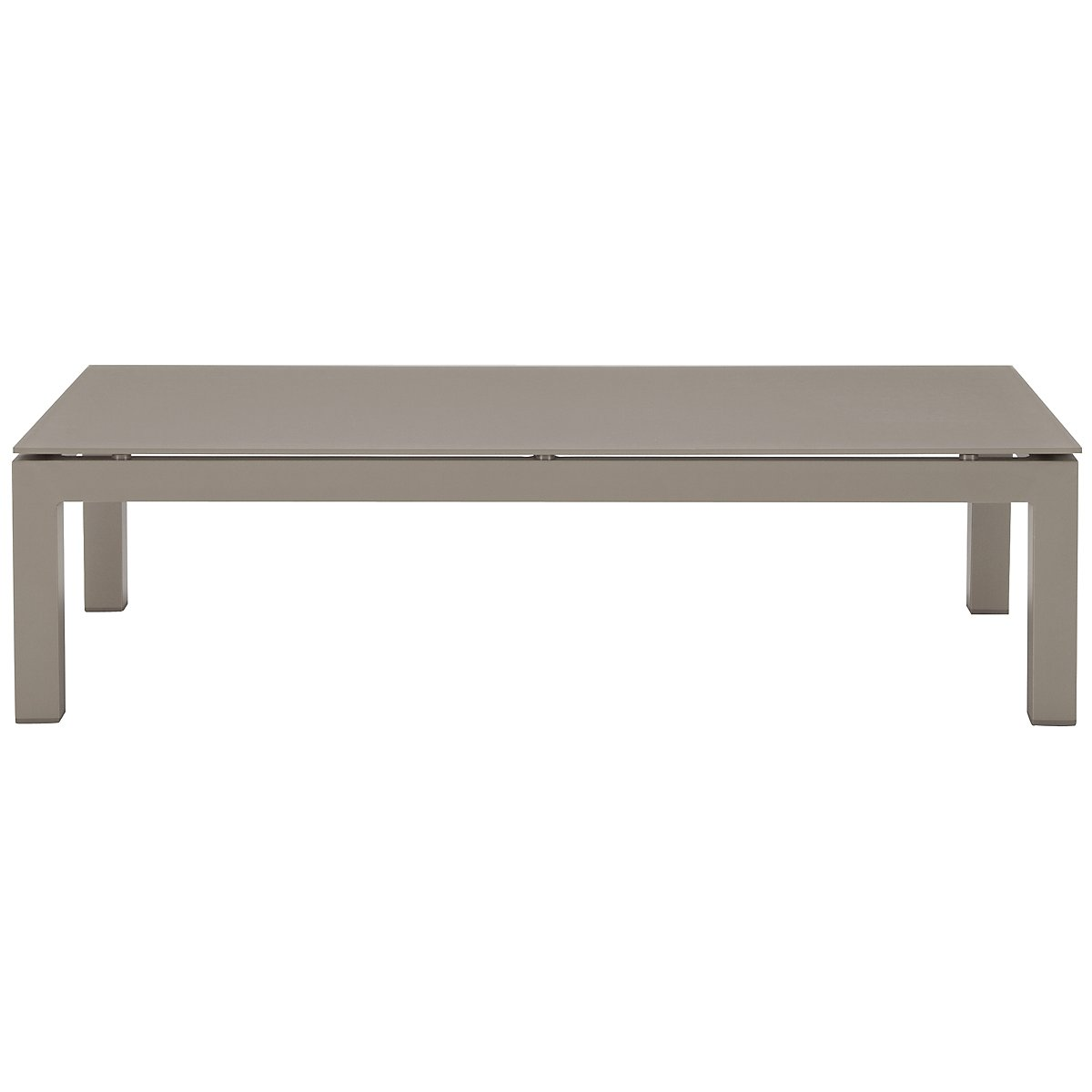 Lisbon Khaki Rect Coffee Table