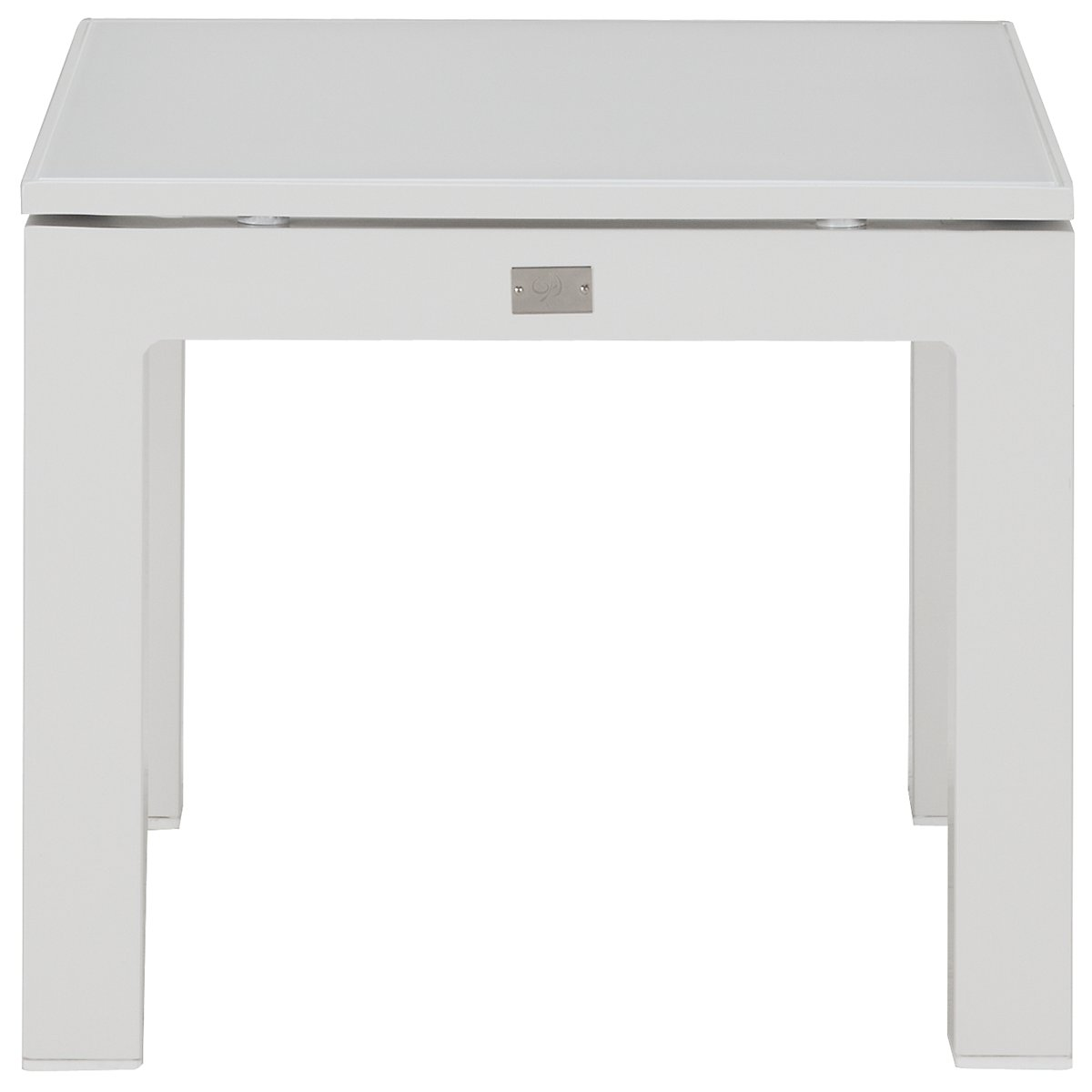 ameriwood com dp amazon end table with white drawer dining kitchen home parsons