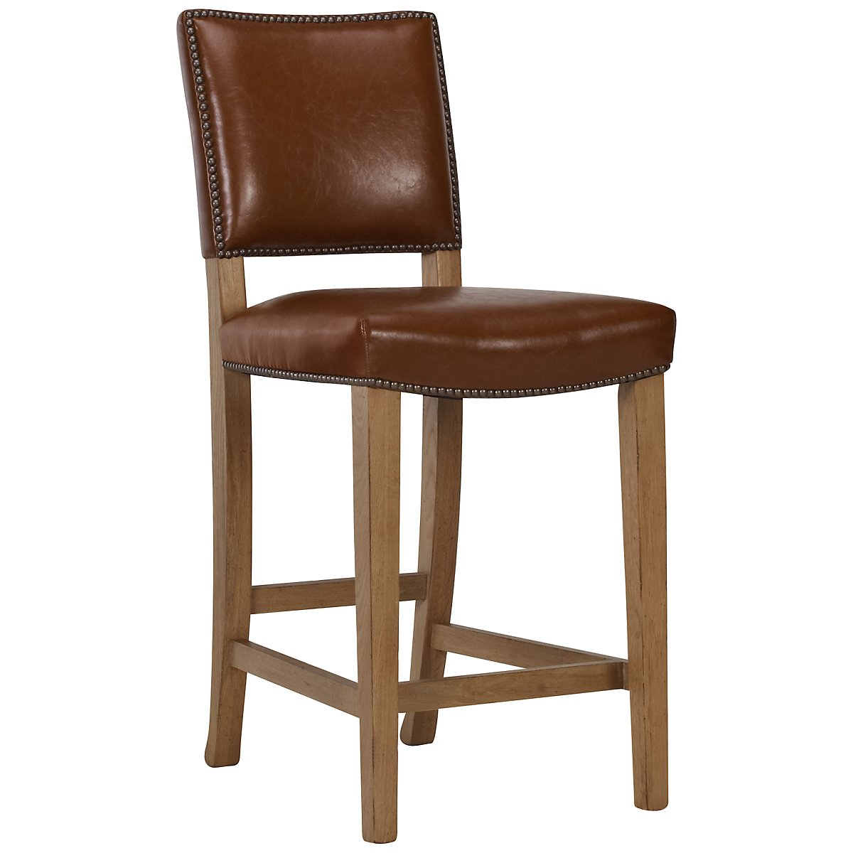 "Forecast Light Tone 24"" Upholstered Barstool"