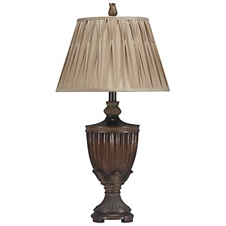 Sienna Brown Table Lamp