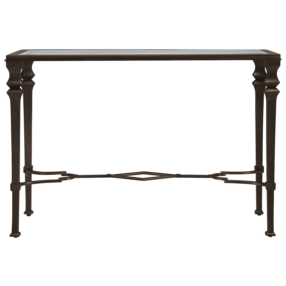 Lido Glass Sofa Table