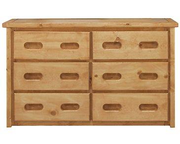 Cinnamon Mid Tone Large Dresser