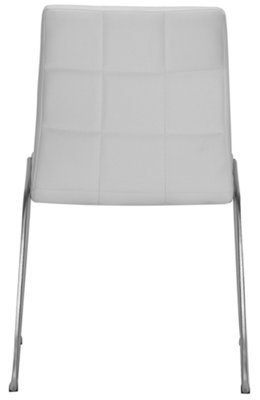 Napoli White Round Table u0026 4 Upholstered Chairs. VIEW LARGER  sc 1 st  City Furniture & Napoli White Round Table u0026 4 Upholstered Chairs: Dining Room