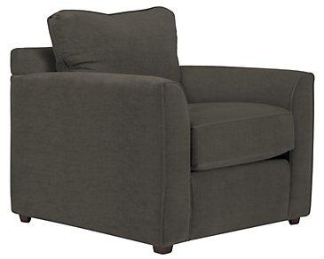 Express3 Dark Gray Microfiber Chair