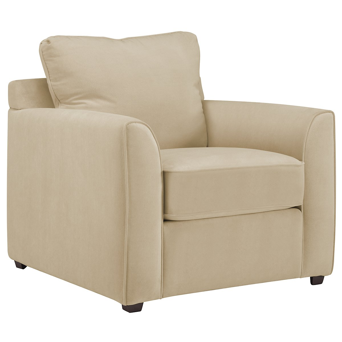 Express3 Light Beige Microfiber Chair