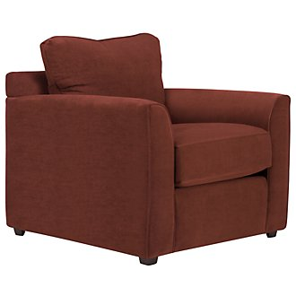 Express3 Red Microfiber Chair