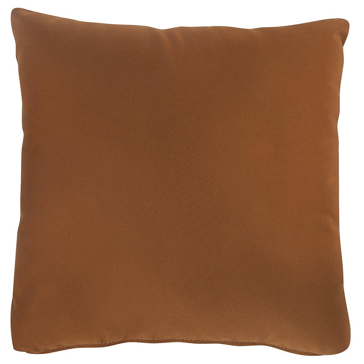 """Canvas Rust 16"""" Indoor/Outdoor Accent Pillow"""