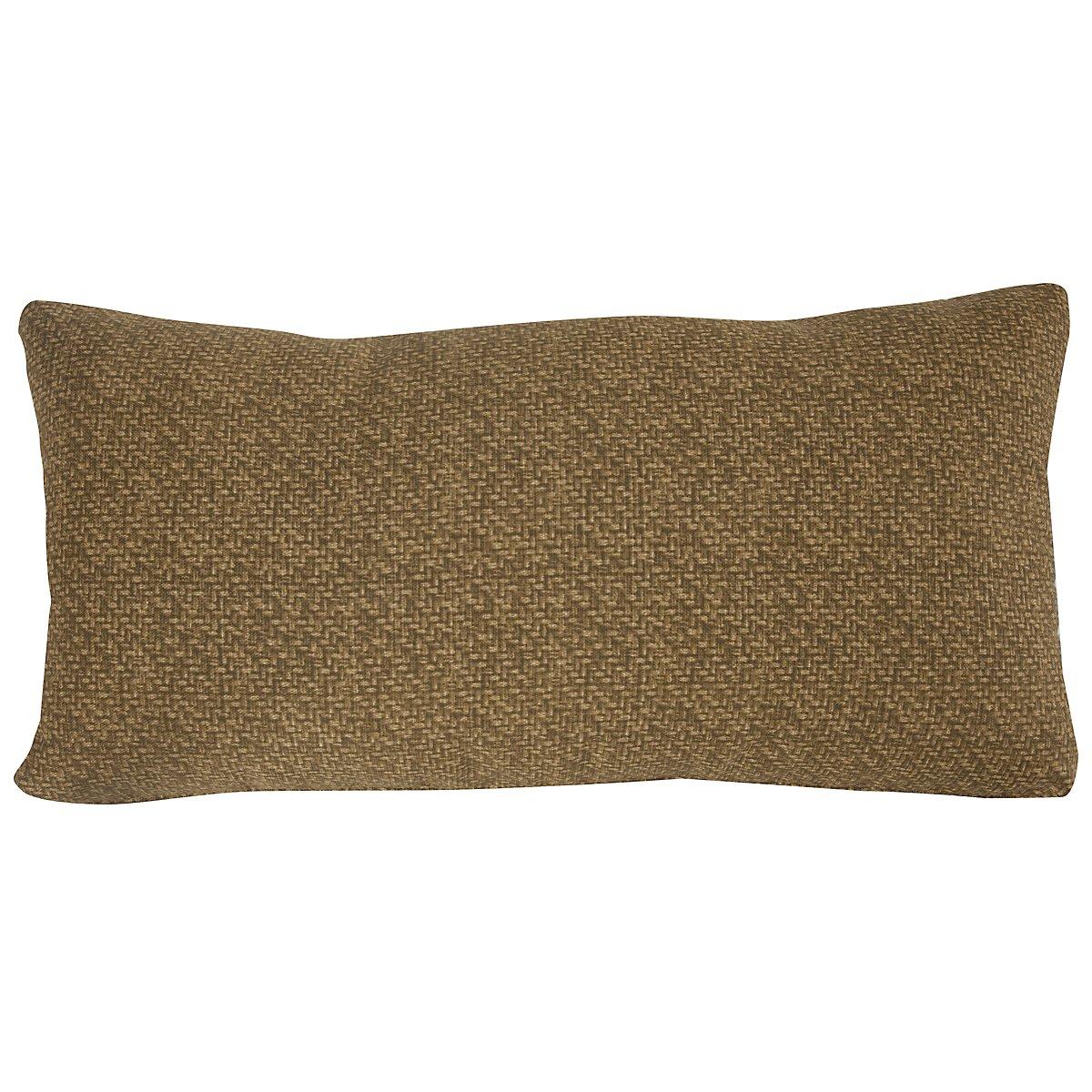 "Tempo Multicolored 26"" Indoor/Outdoor Rectangular Accent Pillow"