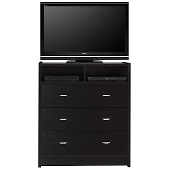 Gianna Dark Tone Media Chest