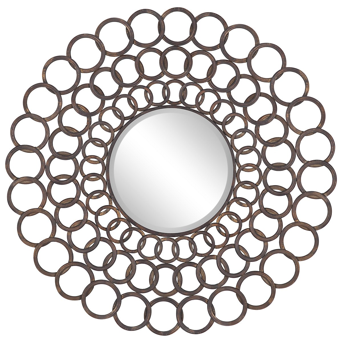 Circles Bronze Mirror