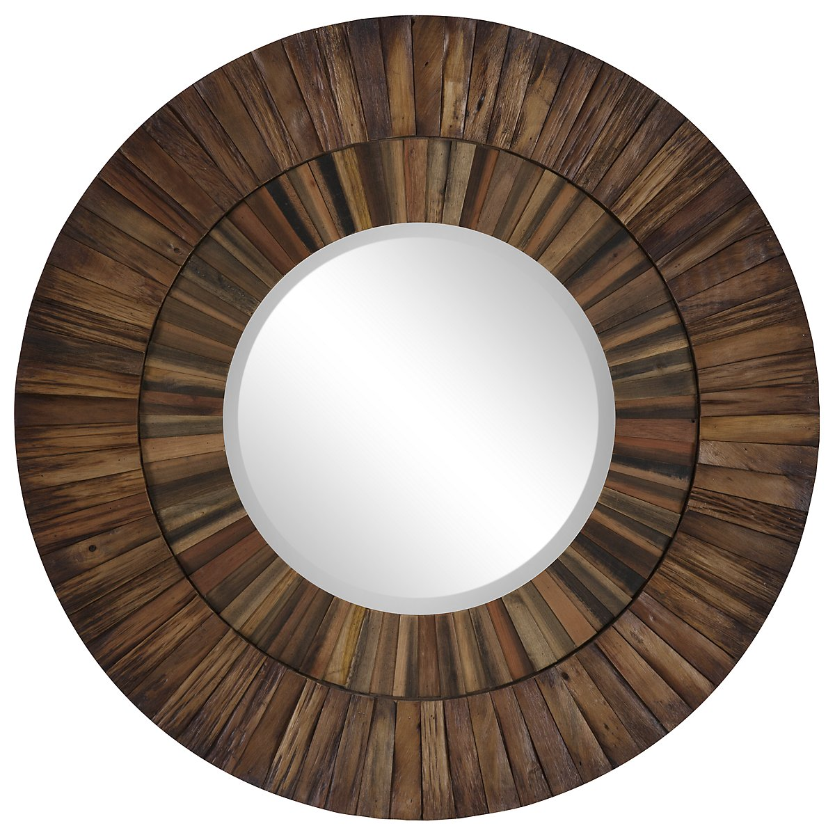 Shades Wood Mirror
